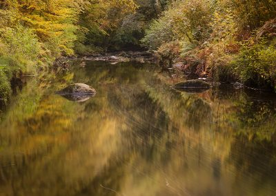 Autumnal Flow (River Teign, Devon)