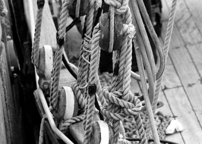 Rigging (Brixham Harbour, South Devon)