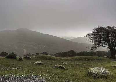 Summit In The Mist (Sharp Tor, Dartmoor)