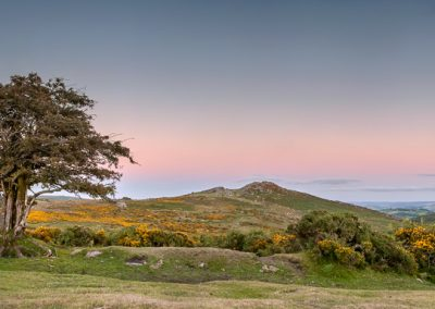 Sharp Tor Sunset (Sharp Tor, Dartmoor)